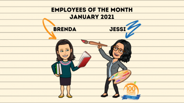 Employees of the Month January 2021